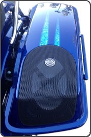 Saddlebag Lid Protection Kit - Speaker Lids